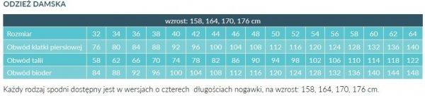 Fartuch Damski 0205 - Różne Rodzaje