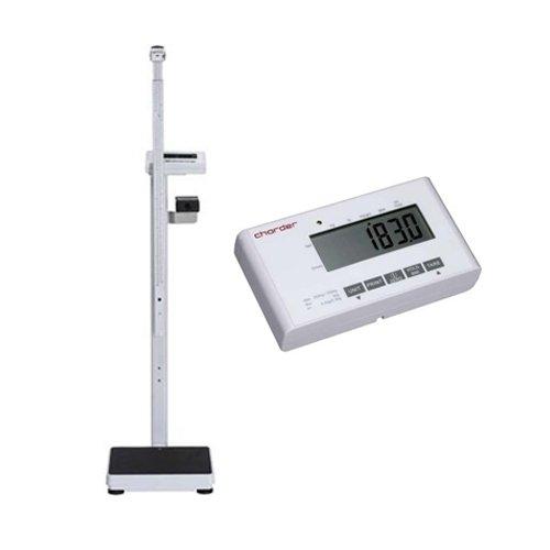 Elektroniczna Waga Medyczna Charder MS 4900 + Wzrostomierz Teleskopowy Elektroniczny (klasy III) Funkcja BMI