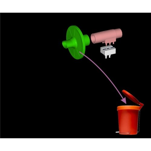 Ustnik do Spirometru Wielokrotnego Użytku