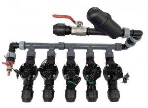 Kolektor Komplet 5 Elektrozawory 100HV, Kolektor , Filtr