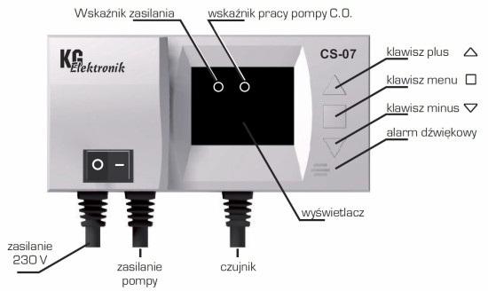 CS-07 STEROWNIK DO POMPY C.O. KG Elektronik