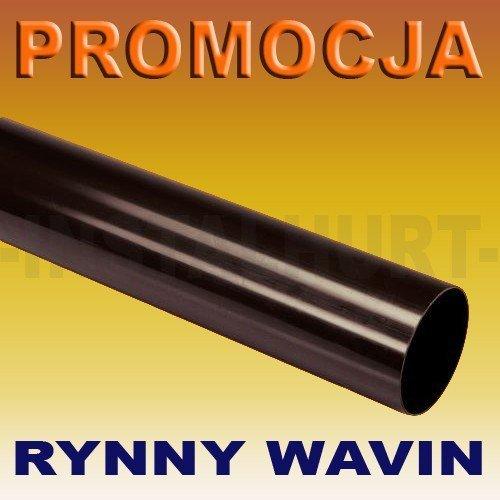 RURA SPUSTOWA RYNNY WAVIN KANION FI 75/4M
