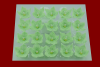 Lilijka pistacjowa - kwiaty cukrowe - 20 szt.