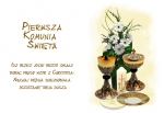 Hokus - opłatek na tort komunijny duży Patena