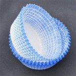 Papilotki - foremki do mufinek niebieskie 35 mm 2000 szt.