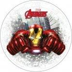 Opłatek na tort AVENGERS Iron Man