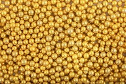 Włoskie Perełki Złote 6,5 mm - 50g