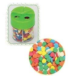Posypka dekoracyjna confetti różyczki kolorowe 180g