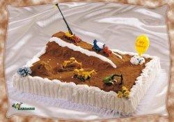 Kardasis - zestaw do dekoracji tortu Maszyny Budowlane