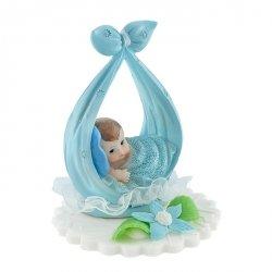 Hokus - Chłopiec na kokardzie - dekoracja na chrzest