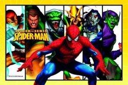Modecor - opłatek na tort prostokątny Spider-man Enemies