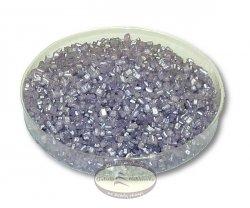 Cukier perłowy - posypka kryształki fioletowe 50g