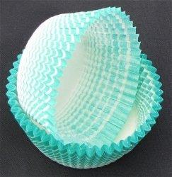Papilotki - foremki do mufinek zielone 45 mm 100 szt.
