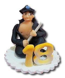 Hokus - Policjant 18 Boy Dekoracja tortu