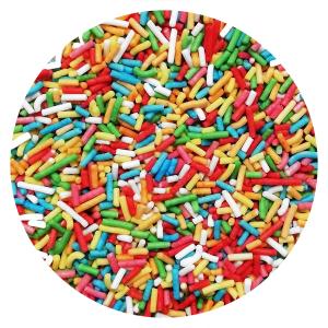 Posypka cukrowa PAŁECZKI KOLOROWE na tort deser 1kg