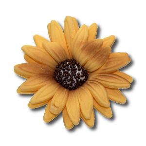 HOKUS - Słonecznik 10 szt. dekoracja cukrowa