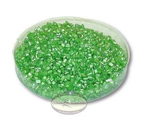 Cukier perłowy - posypka kryształki zielone 50g