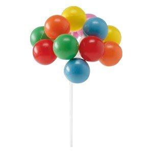 Baloniki - dekoracja na tort