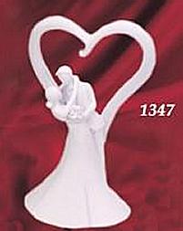 Kardasis - Figurka na tort PARA MŁODA Z SERCEM
