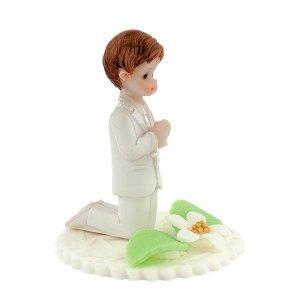 Hokus - Chłopiec na klęczniku dekoracja komunijna