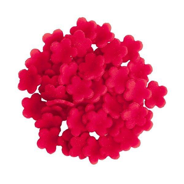HOKUS - Łączka czerwona - Kwiaty cukrowe 12 x 50 szt.