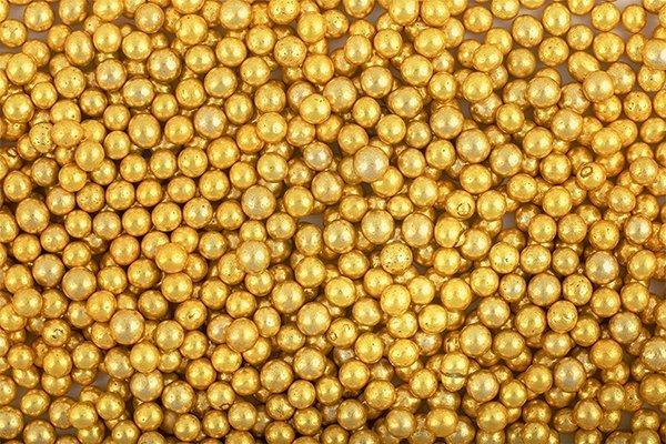 Włoskie Perełki Złote 5 mm - 50g