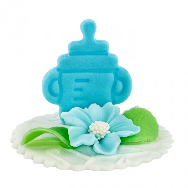 Hokus - Dekoracja tortu na chrzest dla chłopczyka