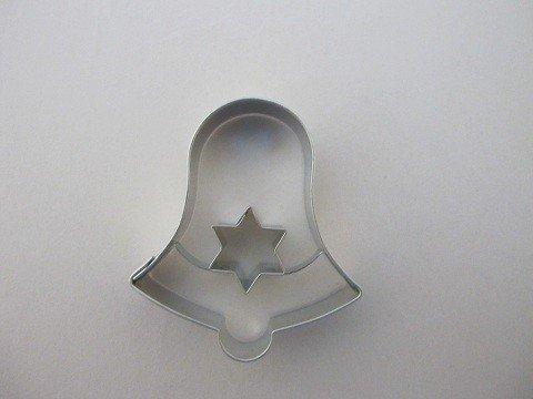 Wykrawaczka do ciastek DZWONEK z gwiazdką  - 5,5 cm