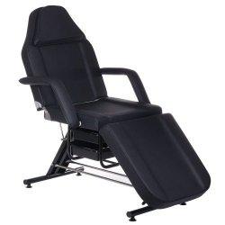 Fotel kosmetyczny z kuwetami BW-262 Czarny BS