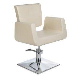 Fotel Fryzjerski Vito BH-8802 Kremowy BS