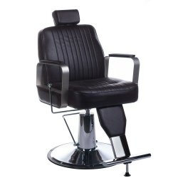 Fotel Barberski Homer BH-31237 Brązowy BS