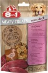 8in1 Meaty Treats Freeze Dried 100% Kaczka 50g