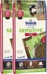Bosch Sensitive Jagnięcina z ryżem 2x15kg (30kg)