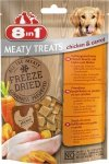 8in1 Meaty Treats Freeze Dried Kurczak i Marchewka 50g