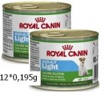 Royal Canin Mini Light puszka 12*195 g