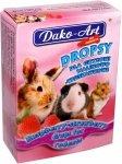 Dako-Art Dropsy malinowo truskawkowe 75g dla królików i gryzoni
