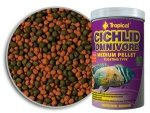 Tropical Cichlid Omnivore Medium Pellet 500ml/180g