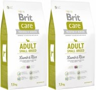 Brit Care Adult N Small Breed Lamb 40% & Rice 15kg (2x7,5kg)