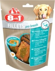 Przysmak 8in1 Fillets Pro breath S 80g