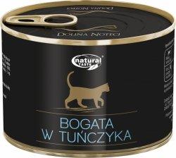 Natural Taste Cat Bogata w tuńczyka 185g