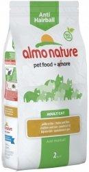 Almo Nature Adult Anti-Hairball z kurczakiem i ryżem 2kg