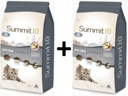 Summit10 Super Premium Kitten Complete 2+2kg GRATIS