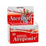 Aterovit (Koniczyna Czerwona, Głóg, Witamina C, Kwas Nikotynowy ), 30 tab.