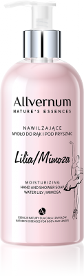 Water Lily & Mimosa Moisturizing Hand and Shower Soap, Allvernum