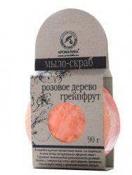 Scrub Soap Rosewood & Grapefruit, Aromatika