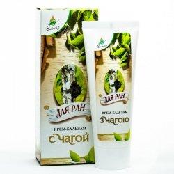Wound Healing Balm Cream with Inonotus obliquus Extract
