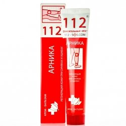 Arnica Cream Balm for bruises and contusions Rescuer 112
