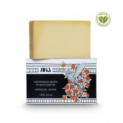 Natural Bar Soap Orange and Vanilla, Yaka