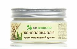 Nourishing Hemp Foot Cream, Dr. Biokord, 100% Natural
