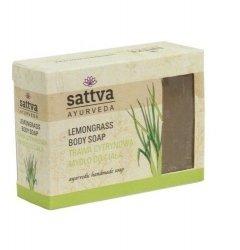 Lemongrass Natural Glycerine Soap Sattva, 125g